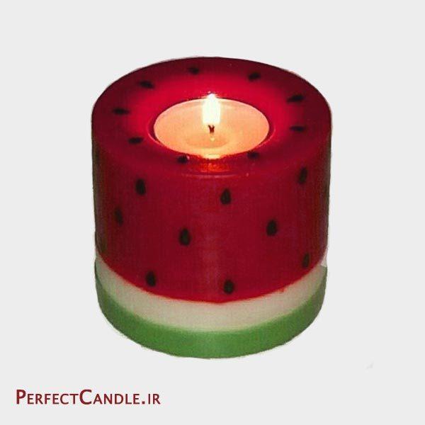 شمع شب یلدا هندوانه وارمردار