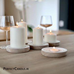 شمع استوانه ای محدب