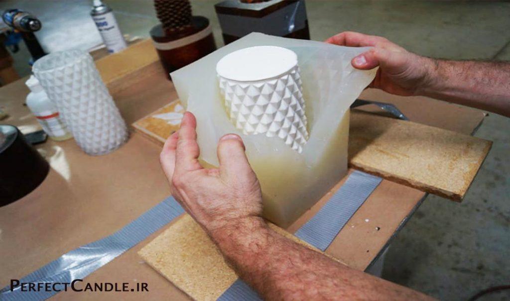 آموزش ساخت قالب شمع