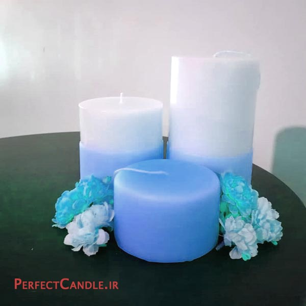 شمع استوانه ای ساده
