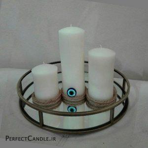 شمع استوانه ای چشم نظر
