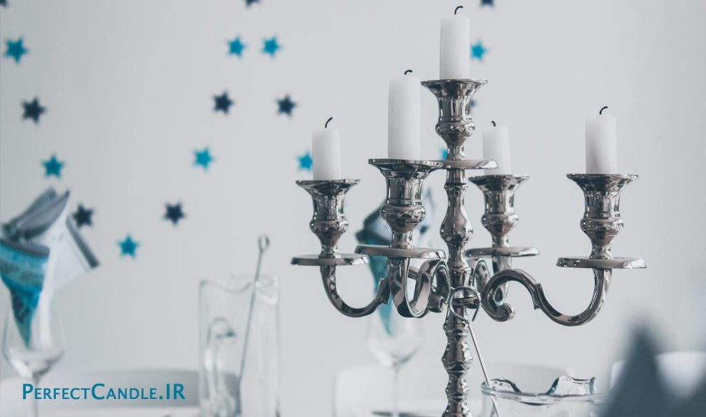 روش های استفاده از شمع در دکوراسیون