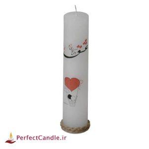 شمع ولنتاین طرح عشق