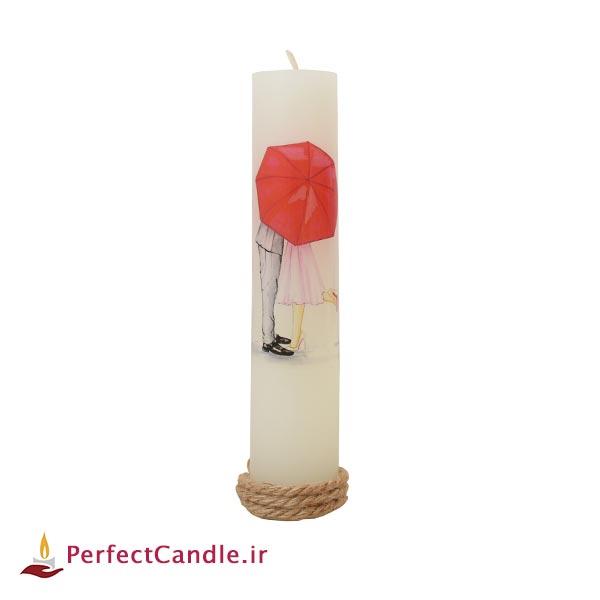 شمع ولنتاین طرح عاشقانه ۳