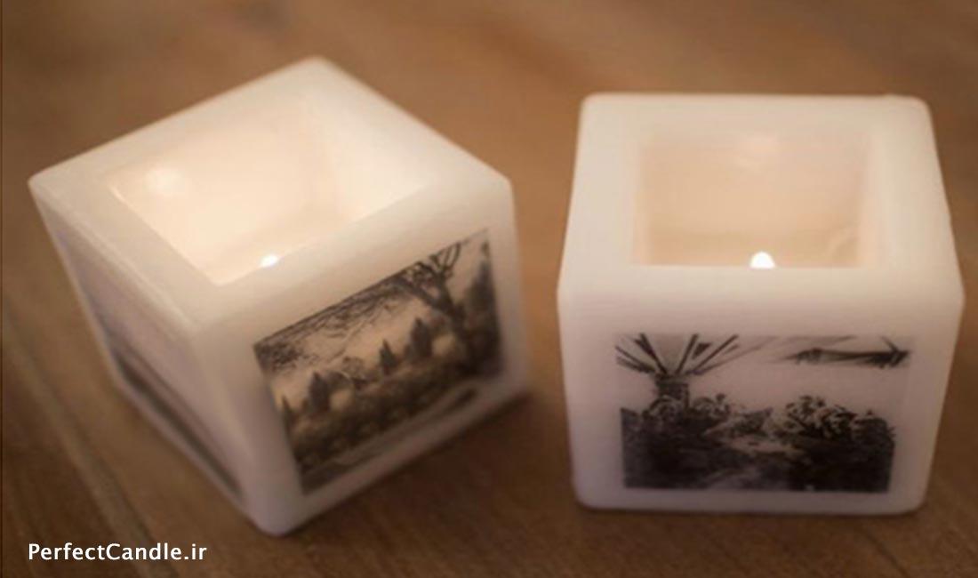 آموزش قرار دادن عکس روی شمع