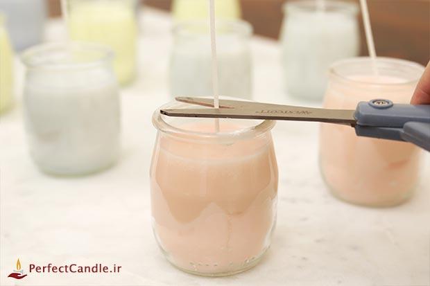 طرز تهیه شمع معطر