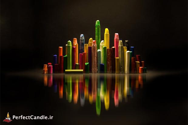 مداد شمعی - ساخت شمع معطر