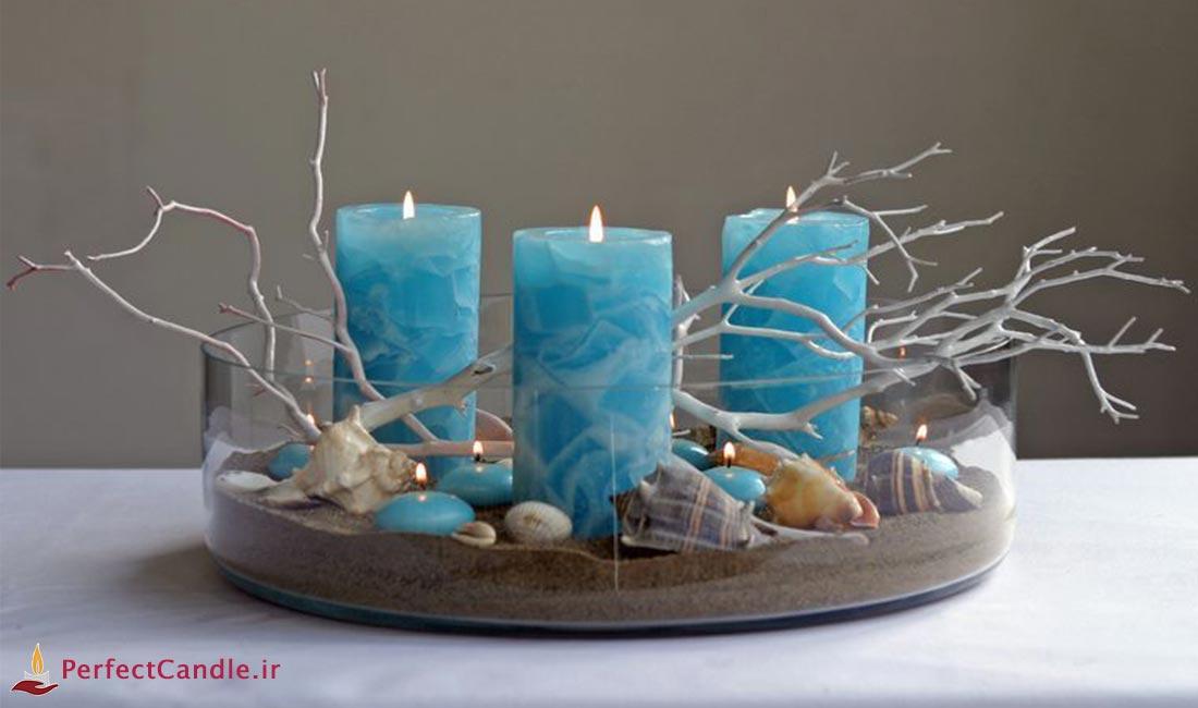 روش های رنگ آمیزی شمع با ژل