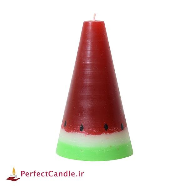 شمع هندوانه مخروطی