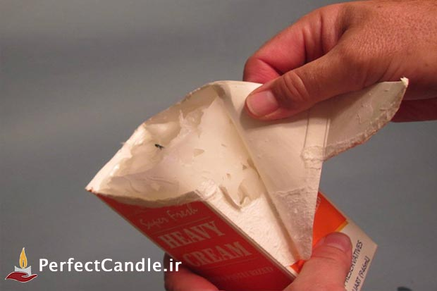 آموزش ساخت شمع یخی