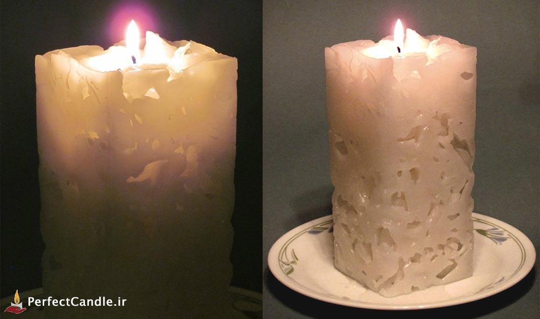 آموزش ساخت شمع یخی به صورت مرحله به مرحله