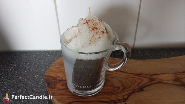 آموزش ساخت شمع قهوه - شمع بیسکویت