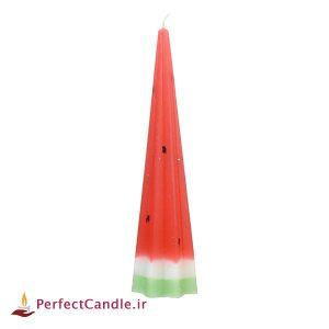 شمع هندوانه مخروطی ستاره ای