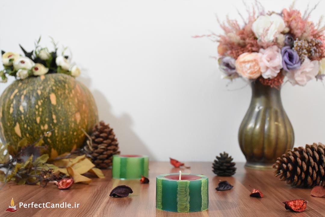 شمع هندوانه فانوسی ۱