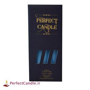 بسته شمع قلمی آبی آسمانی ۲۰ سانتی متر