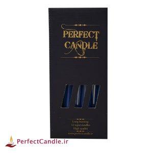 بسته شمع قلمی آبی کاربنی
