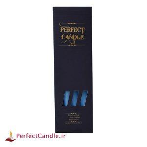بسته شمع قلمی آبی آسمانی ۳۰ سانتی متر
