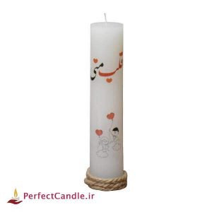 شمع ولنتاین طرح عاشقانه ۴
