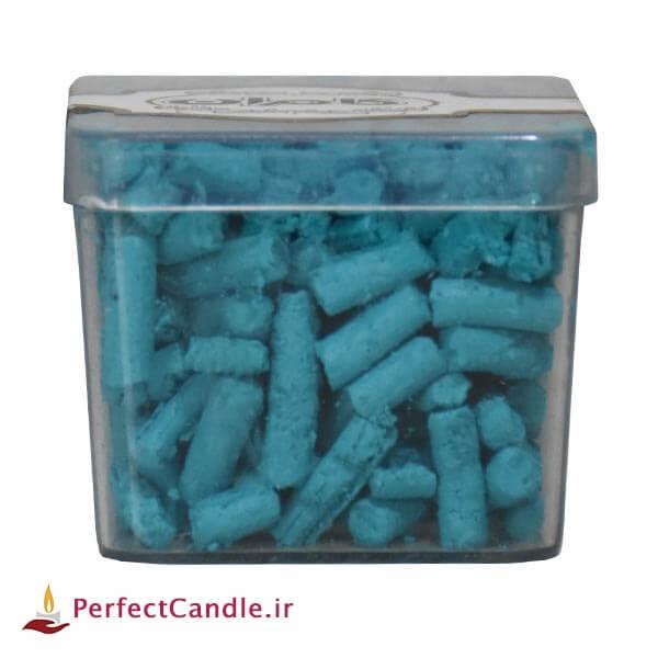 رنگ دانه شمع - رنگ آبی تیفانی