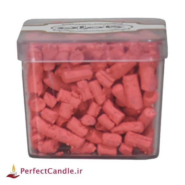 رنگ دانه شمع - رنگ صورتی