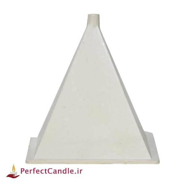 قالب چهار وجهی هرمی شکل مخصوص شمع سازی