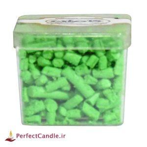رنگ دانه شمع - رنگ سبز