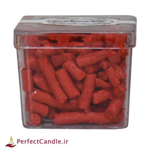 رنگ دانه شمع - رنگ قرمز