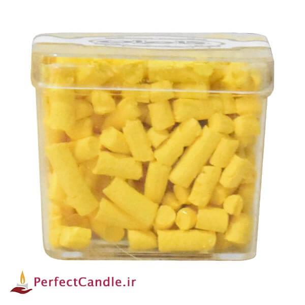 رنگدانه شمع سازی لیمویی