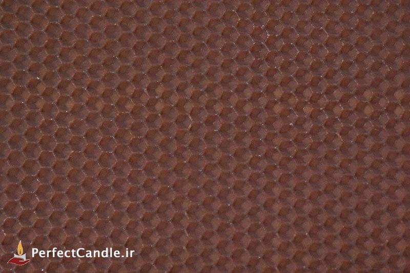 ورق موم عسل طبیعی (قهوه ای پررنگ)