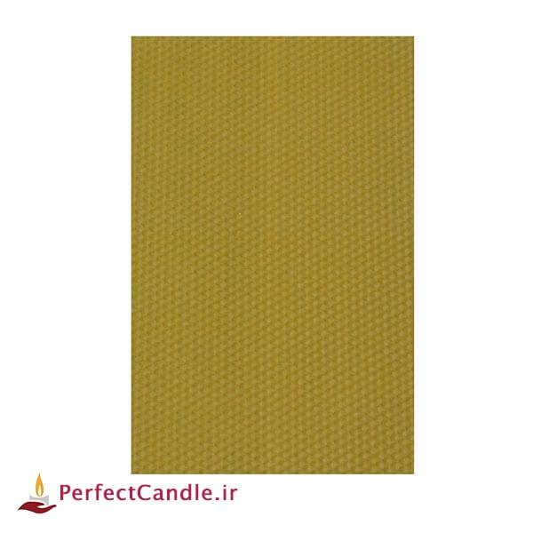 ورق موم عسل طبیعی (زرد عسلی)