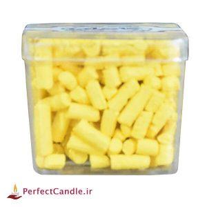رنگ دانه شمع (زرد کروم)