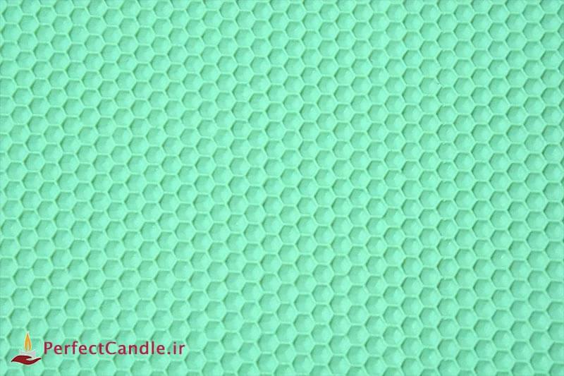 ورق موم عسل طبیعی (سبز پاستیلی)