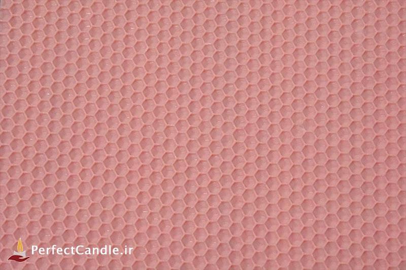 ورق موم عسل طبیعی (صورتی پاستیلی)
