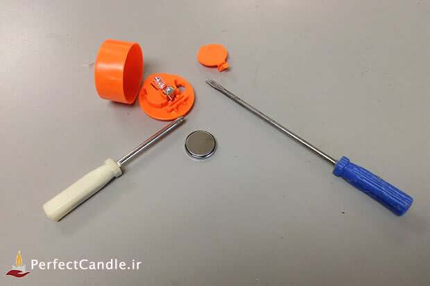جداسازی چراغ LED از محفظه