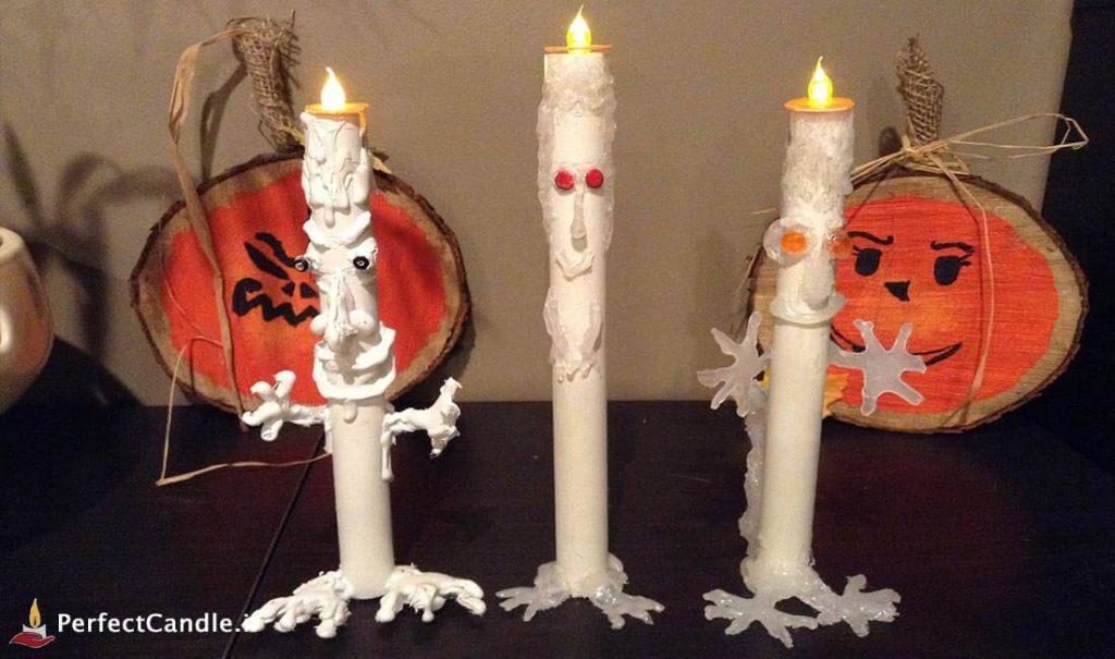 آموزش ساخت شمع هالووین (شمع قلمی)