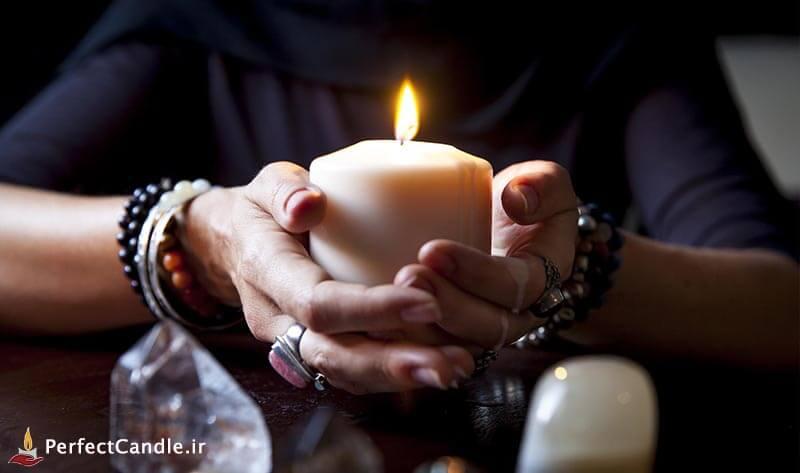 تنظیم روحیه و آرامش با شمع درمانی