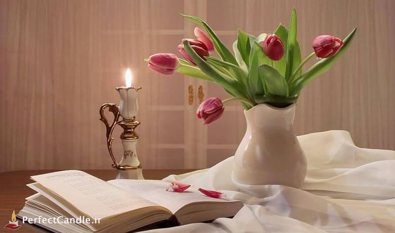 رسیدن به آرامش با شمع درمانی