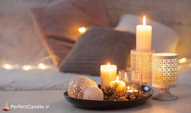 تهویه مناسب درون اتاق ها برای روشن کردن شمع ها