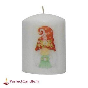 شمع استوانه طرح کریسمس ۲
