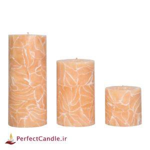 ست شمع استوانه خوشه گندم