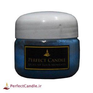 رنگ شمع سازی آبی فلورسنت