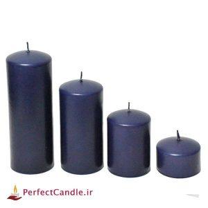 ست ۴ تایی شمع محدب بنفش