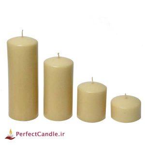 ست ۴ تایی شمع عسلی